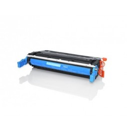 Tóner compatible para HP C9721A Cian (641A)