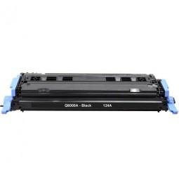 Tóner compatible para HP Q6000A Negro (124A)