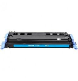Tóner compatible para HP Q6001A Cian (124A)