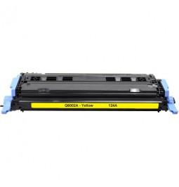 Tóner compatible para HP Q6002A Amarilo (124A)