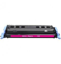 Tóner compatible para HP Q6003A Magenta (124A)