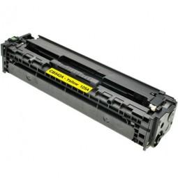 Tóner compatible para HP CB542A Amarillo (125A)