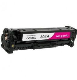Tóner compatible para HP CC533A Magenta (304A)