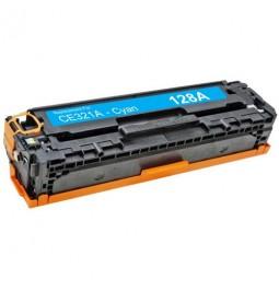 Tóner compatible para HP CE321A Cian (128A)