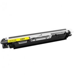 Tóner compatible para HP CE312A Amarillo (126A)