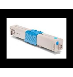 Tóner compatible para OKI C332/MC363 Cian