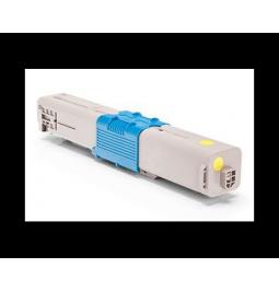 Tóner compatible para OKI C332/MC363 Amarillo