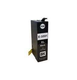 Cartucho de tinta compatible para Epson 35XL Negro