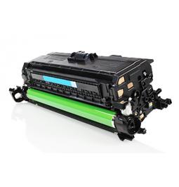 Tóner compatible para HP CE401A Cian (507X)