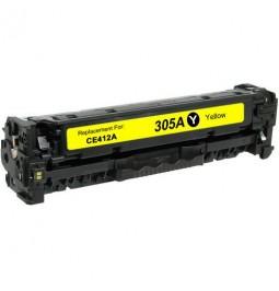 Tóner compatible para HP CE412A Amarillo (305A)