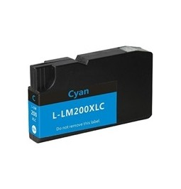 Cartucho de tinta compatible para Lexmark 200XL Cian