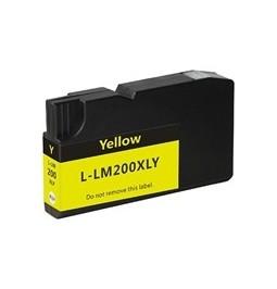 Cartucho de tinta compatible para Lexmark 200XL Amarillo